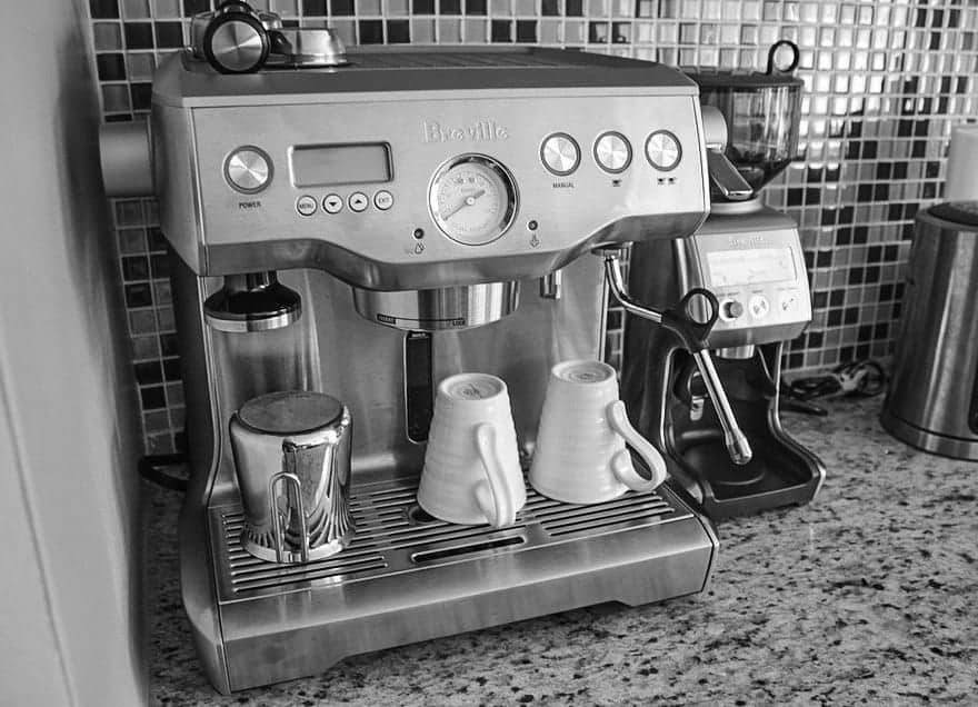 review breville espresso machine