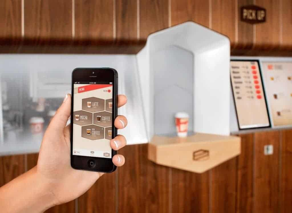 Use an App to order your coffee