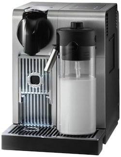 Coffee maker with milk steamer