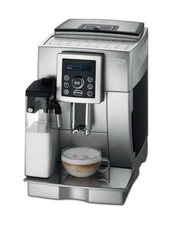 delonghi espresso machine with milk steamer