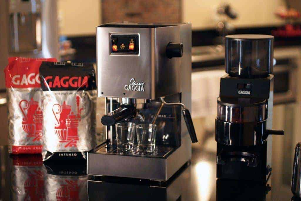 Gaggia Classic On Bench