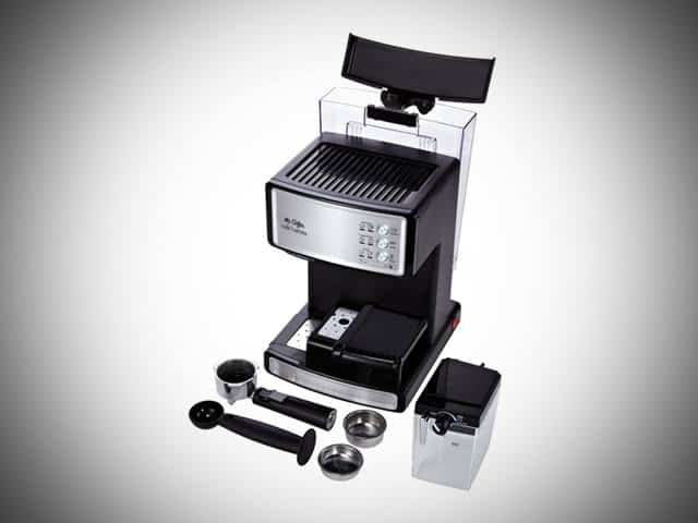 mr coffee espresso machine equipment included