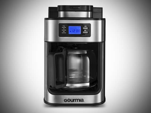 Gourmia Coffee Maker with Grinder