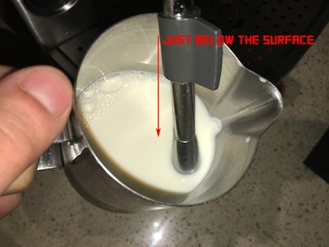 How To Steam Milk For Barista Coffee