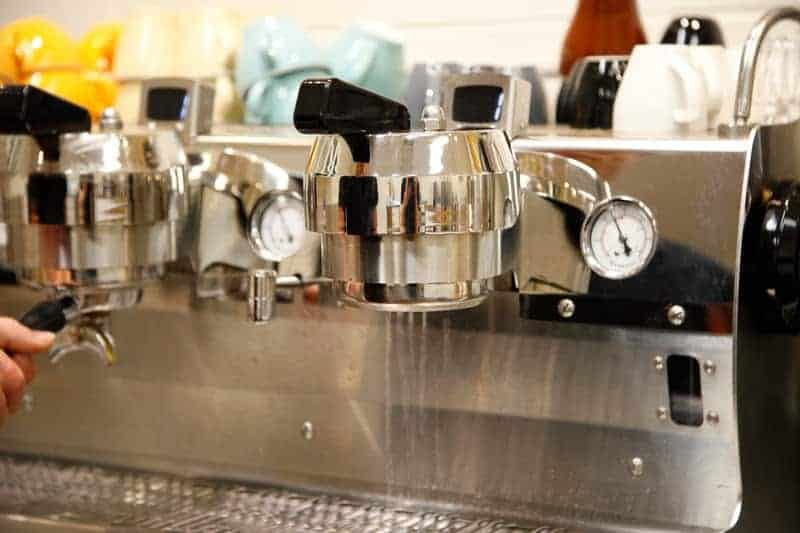 maintain espresso machine