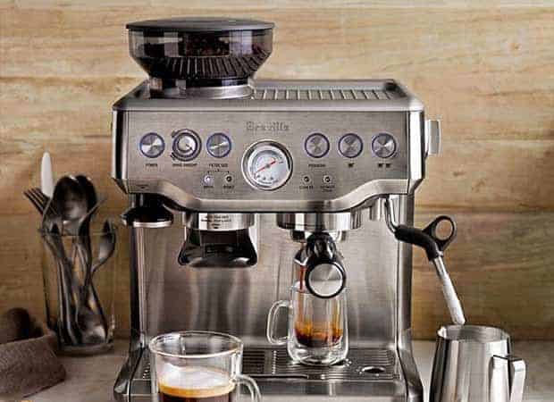 Breville Coffee Maker With Built In Grinder