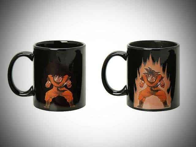 goku mug heat coffee gift idea