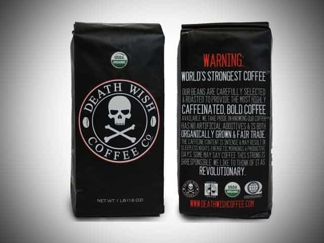 death wish coffee gift idea