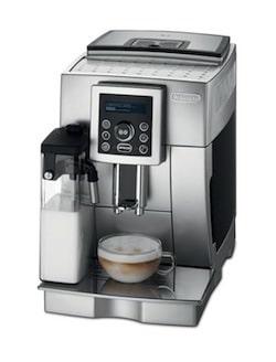 delonghi espresso machine with milk steamer