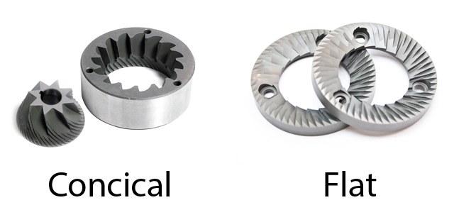 concical burr vs flat burr grinder