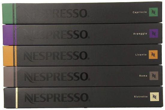 nespresso variety pack