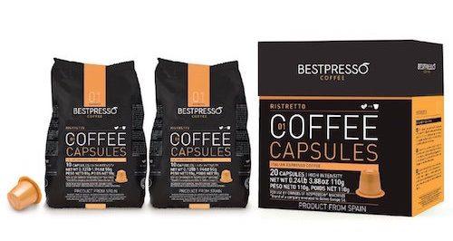 bestpresso nespresso pods compatible