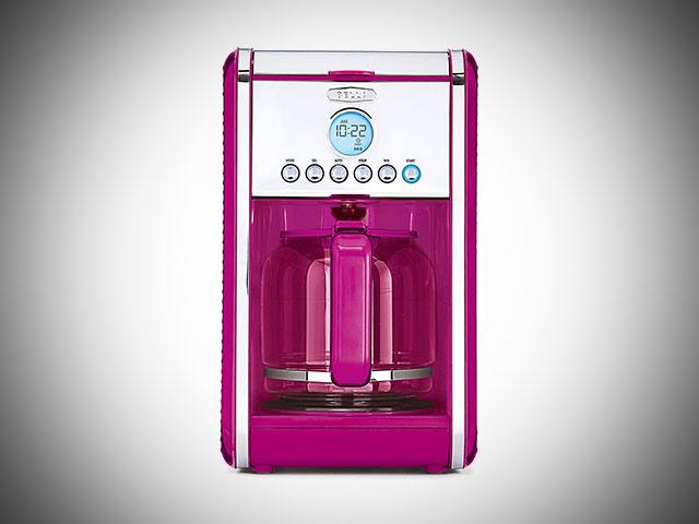 Pink Bella Dots Coffee Maker
