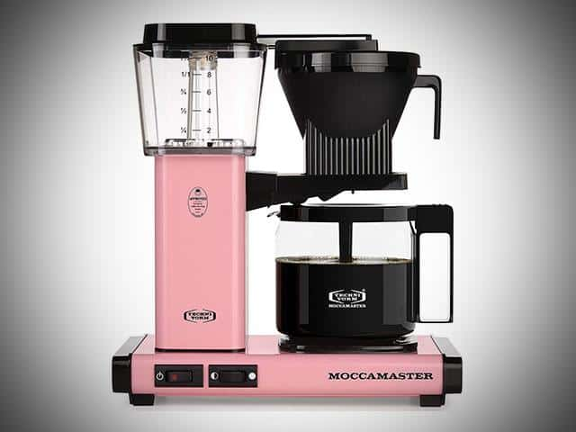 13 Pink Coffee Makers For Chic Homes Get A Pink Coffee