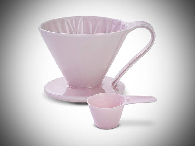 v60 pink coffee maker