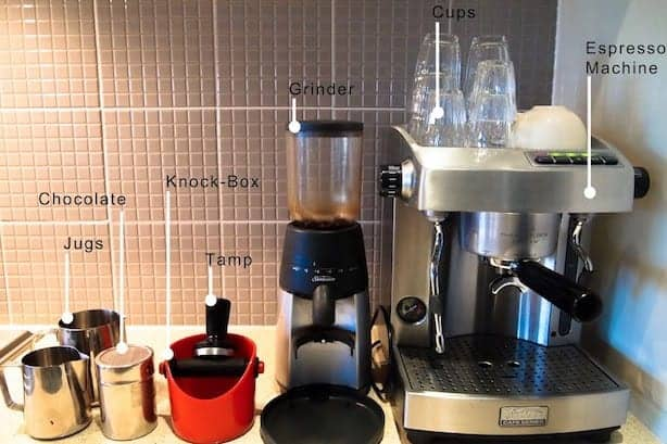 The tools you'll need to make the perfect coffee at home.